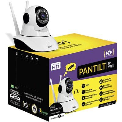 Câmera de segurança wifi IP  350 graus Pantilt Vtv Digital CX 1 UN