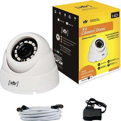 Câmera de segurança CFTV Dome Vtv Digital CX 1 UN