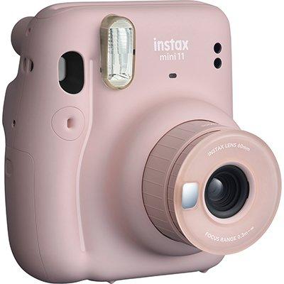 Câmera instantânea Instax Mini 11 rosa Fuji Film CX 1 UN