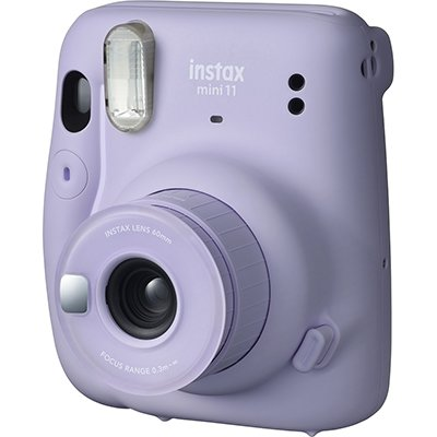 Câmera instantânea Instax mini 11 lilás Fuji Film PT 1 UN