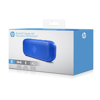 Caixa de som recarregável 4w rms bluetooth azul S400 X0N10AA HP CX 1 UN