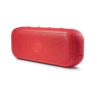 Caixa de som recarregável 4w rms bluetooth verm S400 X0N09AA HP CX 1 UN