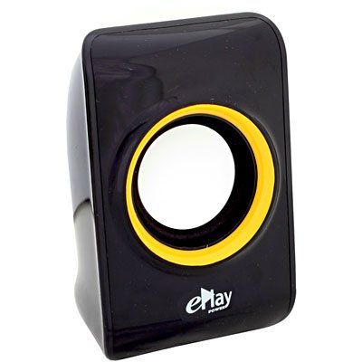 Caixa de som 10w rms usb preta EP200 ePlay CX 1 UN