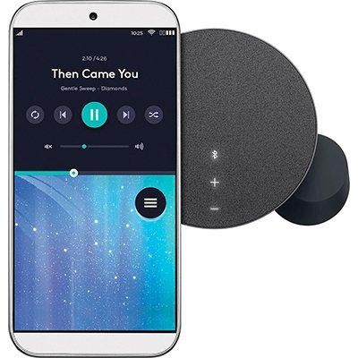 Caixa de som Bluetooth Logitech MX Sound com Sistema 2.0 e conexão Bluetooth com Easy-Switch para até 3 dispositivos ou 3,5mm - Preto CX 1 UN