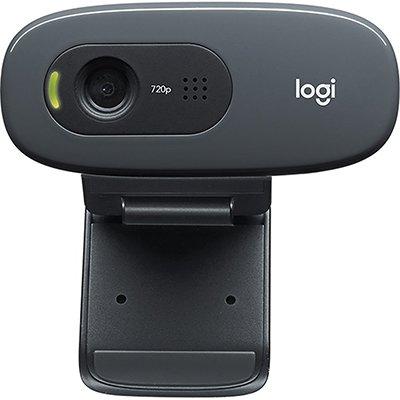 Câmera WebCam  HD 720p c/microfone C270 Logitech CX 1 UN