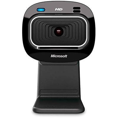 Câmera webcam HD 720p LifeCam HD-3000 T3H-00011 MFT Microsoft PT 1 UN