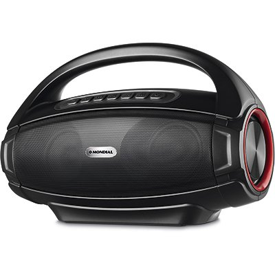 Caixa de som Monster Sound Speaker II bivolt SK-07 Mk Eletrodomesticos CX 1 UN