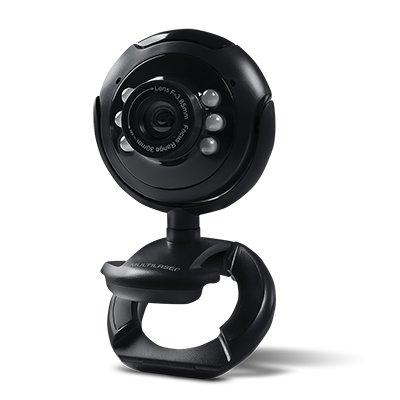 Câmera webcam 16mp c/ microfone preto WC045 Multilaser CX 1 UN