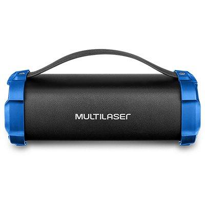 Caixa de som Bazooka 50w bluetooth SP350 Multilaser CX 1 UN