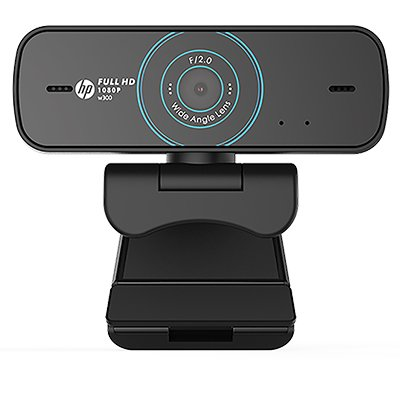Câmera webcam HD 1080p  W300 HP CX 1 UN