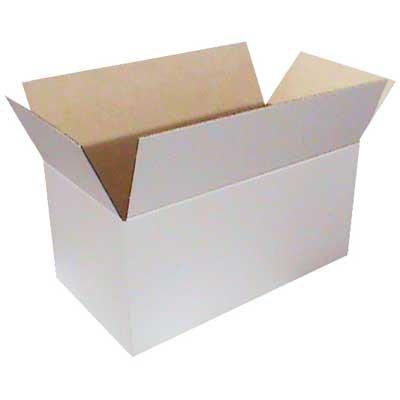 Caixa papelão transporte/mudança C64xL34xA29 branca Westrock PT 1 UN