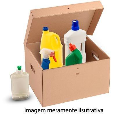 Caixa papelão multiuso C41,3xL35,2xA25,1 tampa integrada Westrock PT 1 UN