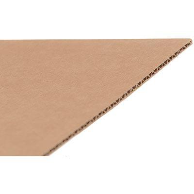 Chapa de papelão multiuso A2 594x420mm kraft Westrock PT 1 UN