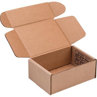 Caixa p/correspondência papelão C25,6xL19,1xA7,2 kraft Westrock PT 1 UN