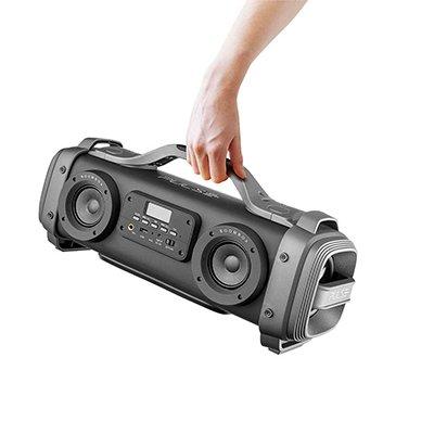 Caixa de som pulse mega boombox 440w preta SP363 Pulse CX 1 UN
