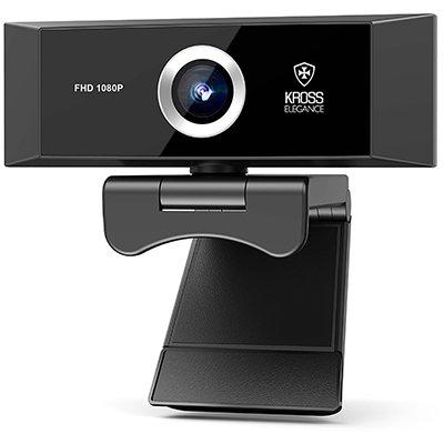 Câmera webcam Full HD 1080p com microfone KE-WBM1080 Kross Elegance CX 1 UN