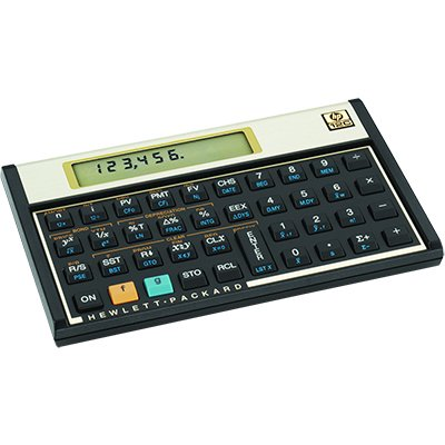 Calculadora financeira 12C Gold F2230A HP BT 1 UN