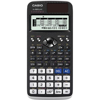 Calculadora científica Classwiz preto FX-991LAX Casio BT 1 UN