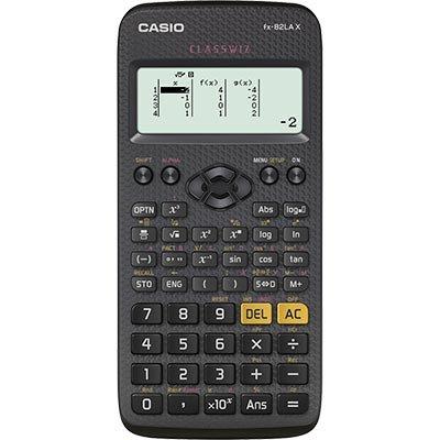 Calculadora científica Classwiz preto fx-82lax Casio BT 1 UN