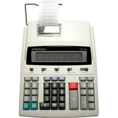 Calculadora de mesa c/bobina 12 digitos LP45 Procalc CX 1 UN