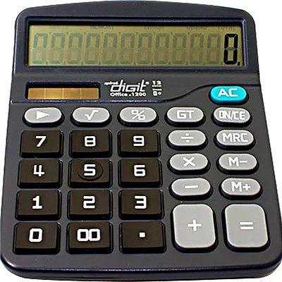 Calculadora de mesa (bat/solar/12 digitos) 1200 Spiral Digit CX 1 UN