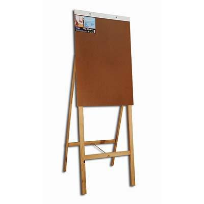 Cavalete flip-chart em madeira duratex Cortiarte CX 1 UN