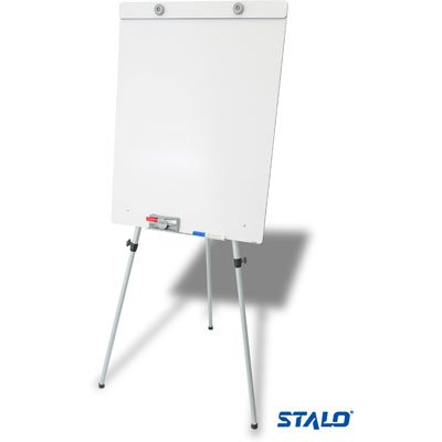 Cavalete flip-chart c/quadro branco altura regulável 8977 Stalo CX 1 UN