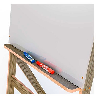 Cavalete flip-chart branco 9425 Stalo CX 1 UN
