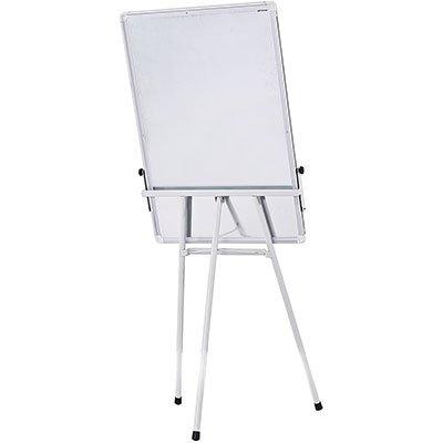 Cavalete flip-chart c/quadro branco magnético tripé Cortiarte PT 1 UN