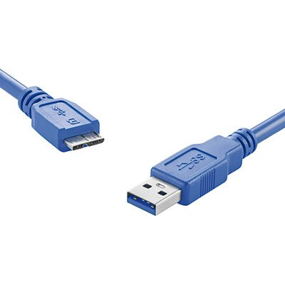 Cabo USB 3.0 AM X Micro B Super Speed 1,5m WI275 Multilaser BT 1 UN