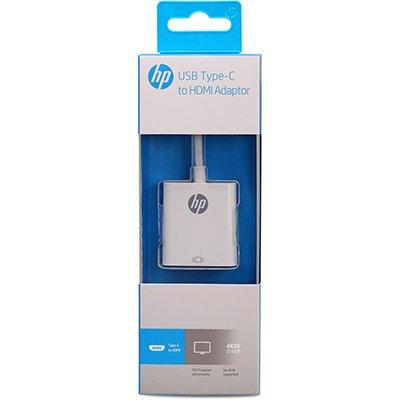Adaptador de video USB Tipo-C para HDMI 55705 HP038GBWHT HP BT 1 UN