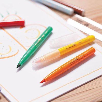 Caneta pincel Brush Pen 10 cores Intensity 970909 BIC PT 1 UN