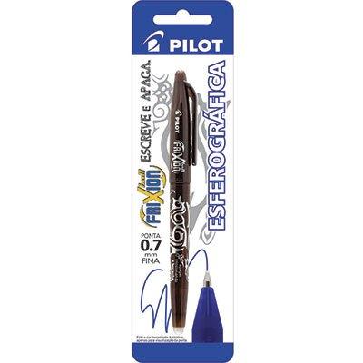Caneta Escreve e Apaga Frixion 0,7mm Esferográfica Marrom Pilot BT 1 UN