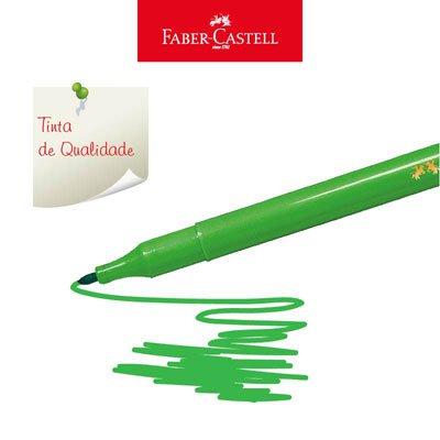 Caneta hidrográfica 24 cores 15.0124CZF Faber Castell PT 1 UN