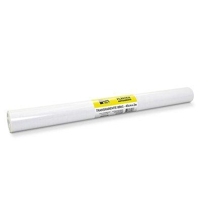 Plástico autoadesivo transparente 45cmx2m Stick Fix PT 1 RL
