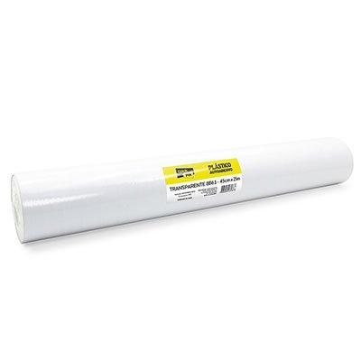 Plástico autoadesivo transparente 45cmx25m Stick Fix PT 1 RL