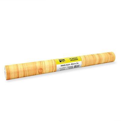 Plástico autoadesivo pinus 45cmx2m 5114 Stick Fix PT 1 RL