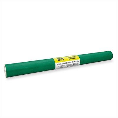 Plástico autoadesivo verde escuro 45cmx2m 2015 Stick Fix PT 1 RL