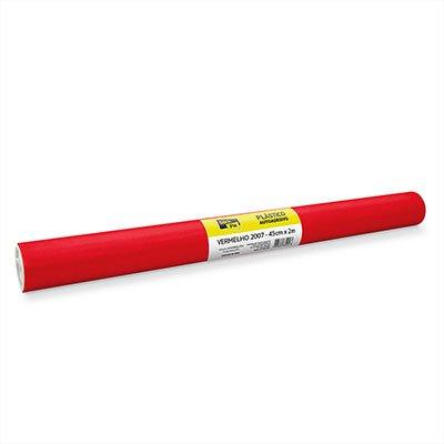 Plástico autoadesivo vermelho 45cmx2m 2007 Stick Fix PT 1 RL