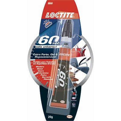 Cola de alta resistência Loctite 60 segundos 1963618 Henkel BT 1 UN