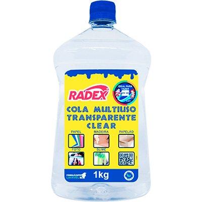 Cola para Slime 1kg multi uso Magic Asuper 7069 Radex PT 1 UN