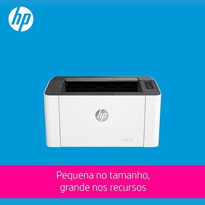 Impressora laser 107a 4ZB77A, Monocromática, Conexão USB, 110v - HP CX 1 UN
