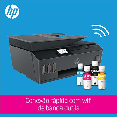 Impressora Multifuncional tanque de tinta Smart Tank 617 Y0F72A HP CX 1 UN