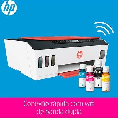 Impressora Multifuncional tanque de tinta Smart Tank 514 3YW74AAK4, Colorida, Wi-fi, Conexão USB, Bivolt - HP CX 1 UN