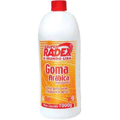 Cola goma arábica asuper radex 1kg Radex PT 1 UN