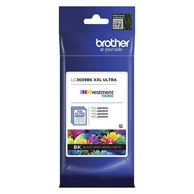 Cartucho p/Brother preto LC3039BK Brother CX 1 UN