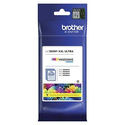 Cartucho p/Brother amarelo LC3039Y Brother CX 1 UN