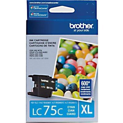 Cartucho p/Brother azul LC75C Brother CX 1 UN