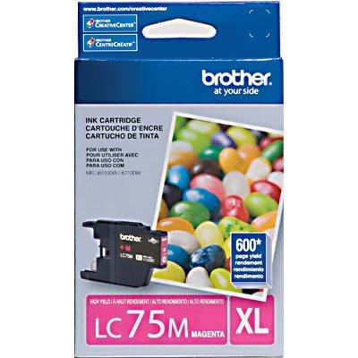 Cartucho p/Brother magenta LC75M Brother CX 1 UN