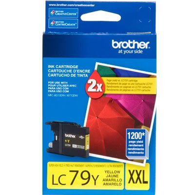 Cartucho p/Brother amarelo LC79Y Brother CX 1 UN